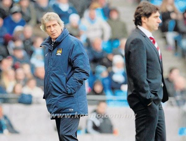Pellegrini tolak dakwaan penyokong, info, terkini, berita sukan, bola sepak, Manchester city, Piala FA, Manuel Pellegrini