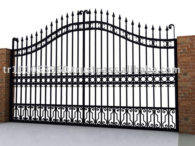 The gallery for gt simple iron gate