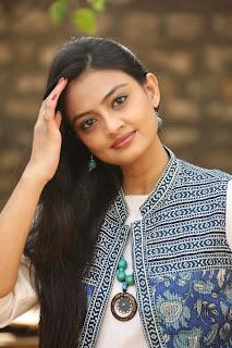 Actress Nikitha Narayan Latest Pictures at Ladies and Gentlemen Platinum Disc Function 37.JPG