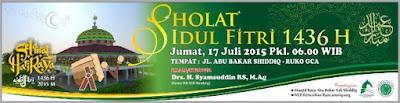 Shalat Idul Fitri 1436 H