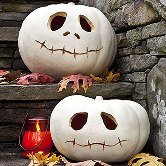 halloween ideas pumpkin skulls