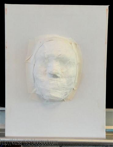 Kids Artists: Plaster mask