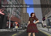 Second Life Hunts Info Group on Facebook
