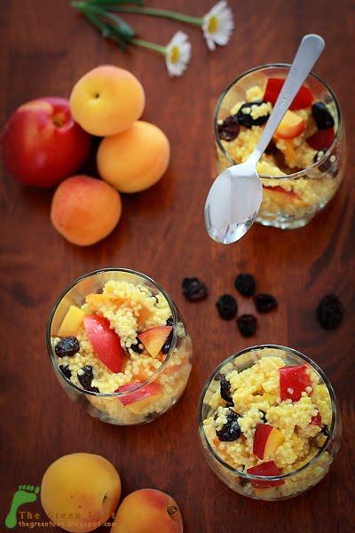 Salata de mei cu fructe