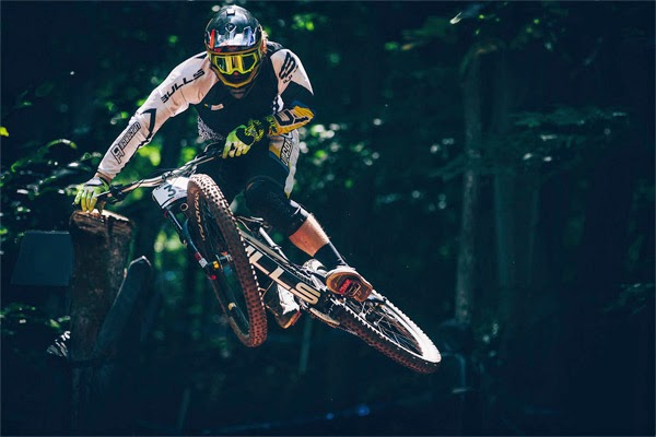 2014 Windham UCI World Cup Downhill: Practice Wyn Masters