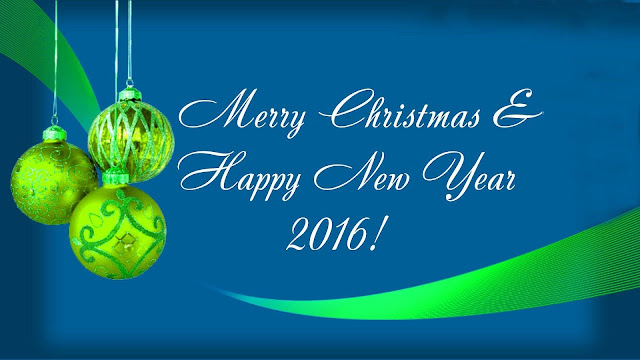 wallpaper ucapan selamat hari natal dan tahun baru 2016