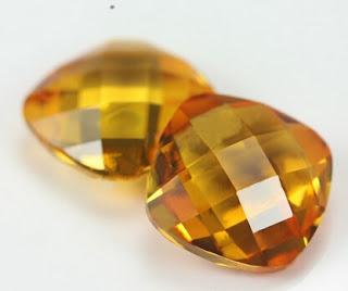 Synthetic_Sapphire_22#_corundum_Gemstones_cushion_Cut_Double_Side_Turtle_Face_Wholesale