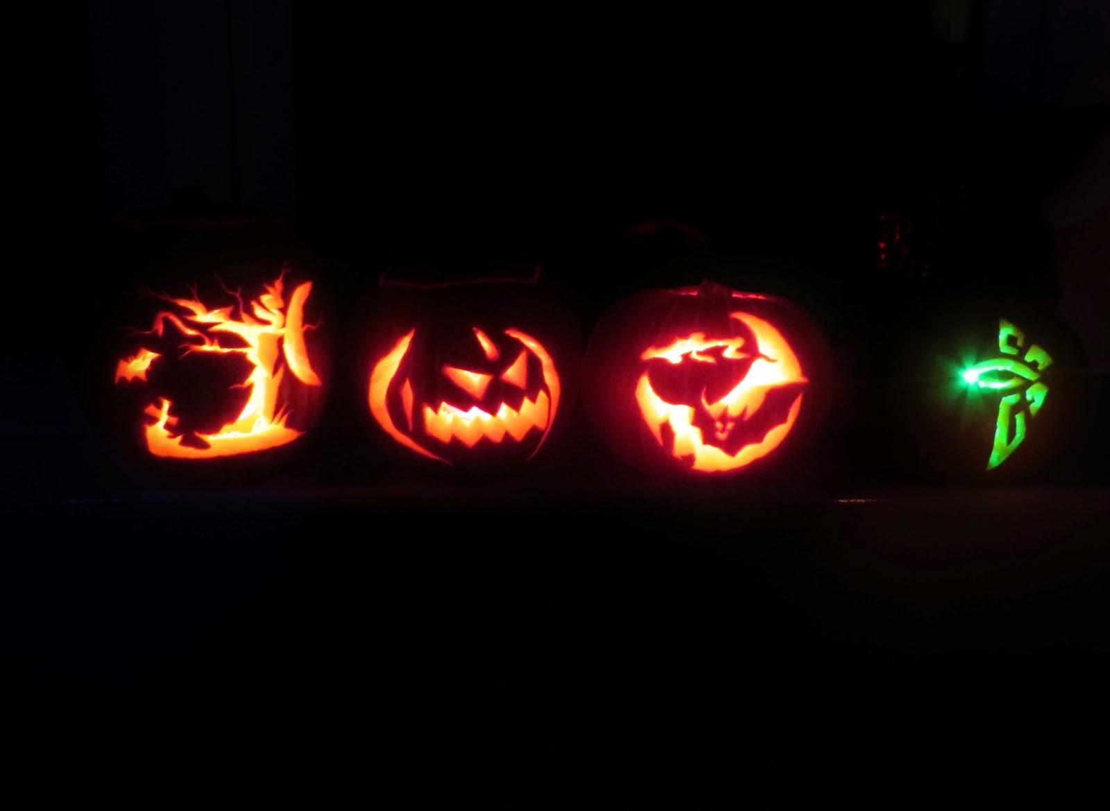 Pumpkin, pumpkin carving, pumpkin carving ideas, halloween, jack o lantern, spooky, scary, pumpkin lights, green, ingress pumpkin
