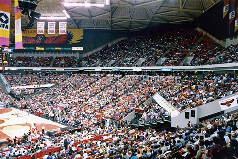 56 Omni Coliseum Atlanta Ga Scolin S Sports Venues
