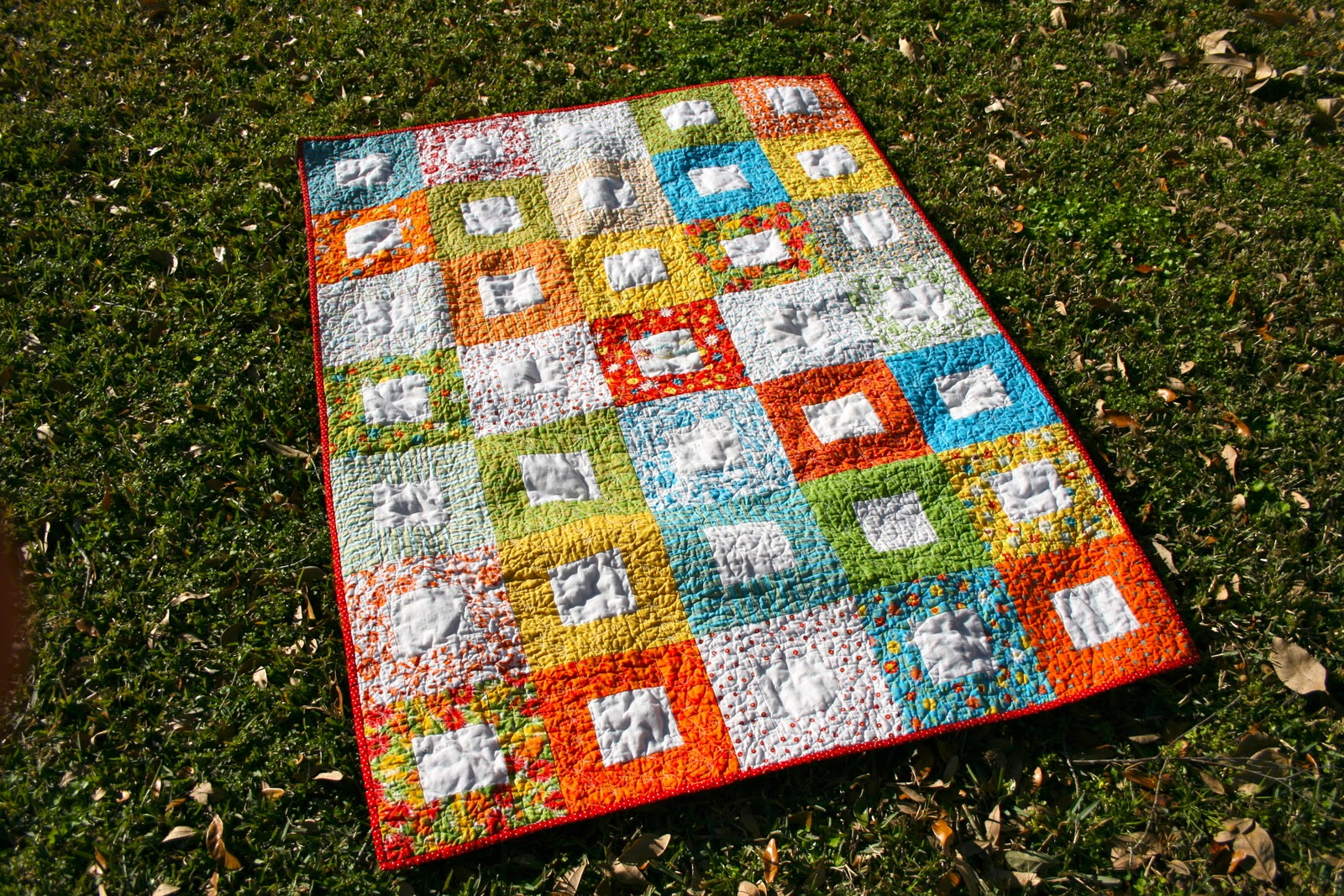 The Tulip Patch: Batting Battles II: Warm and White vs. Polyfil ... : polyester vs cotton quilt - Adamdwight.com