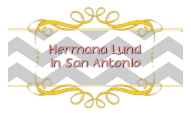 Hermana Lund in San Antonio