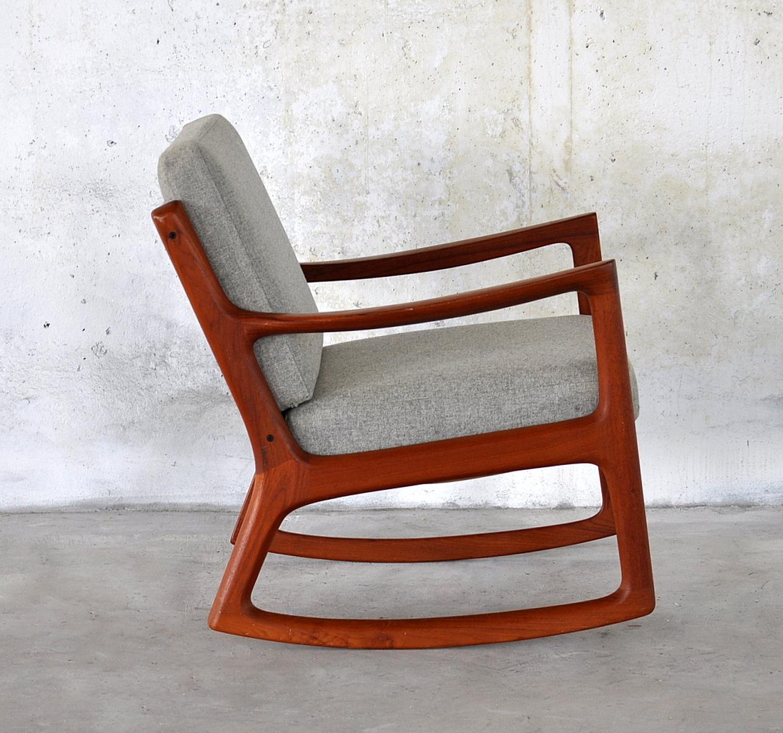 SELECT MODERN: Ole Wanscher Teak Rocking Chair