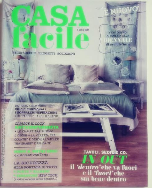 Casa Facile okładka lipiec 2014