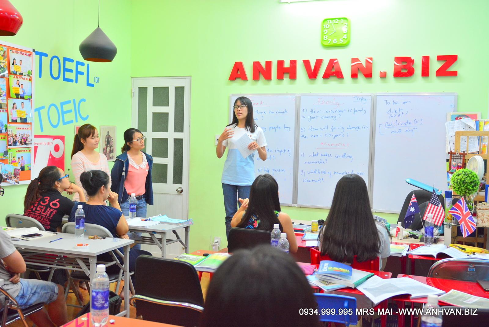 Thực Hành Nói Tại Lớp Tháng 9-2015