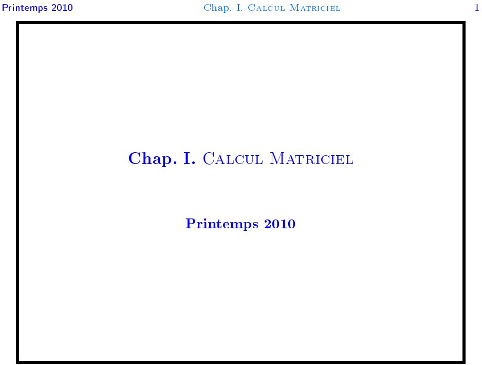 Cours Algèbre 2 Complet SMPC S2