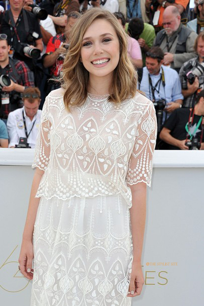 Fashionistas World Elizabeth Olsen At Cannes