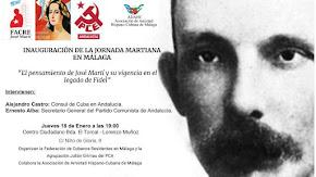 Inauguración de la Jornada Martiniana en Málaga
