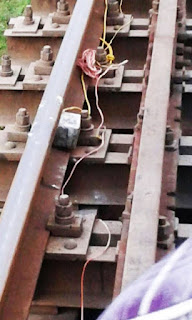 Bombs on Railway Line