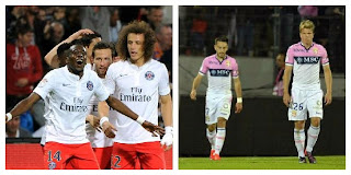 PSG champion Evian in Ligue 2!