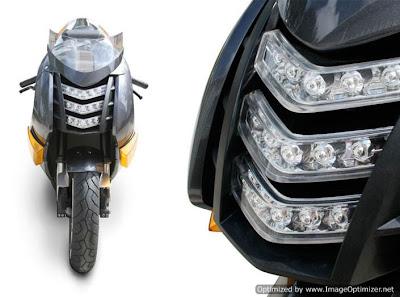 Superbike Elétrica R Vectrix