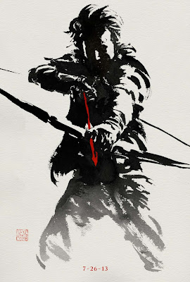 The Wolverine Sumi-e Character Movie Posters - Will Yun Lee as Harada (aka Silver Samurai)
