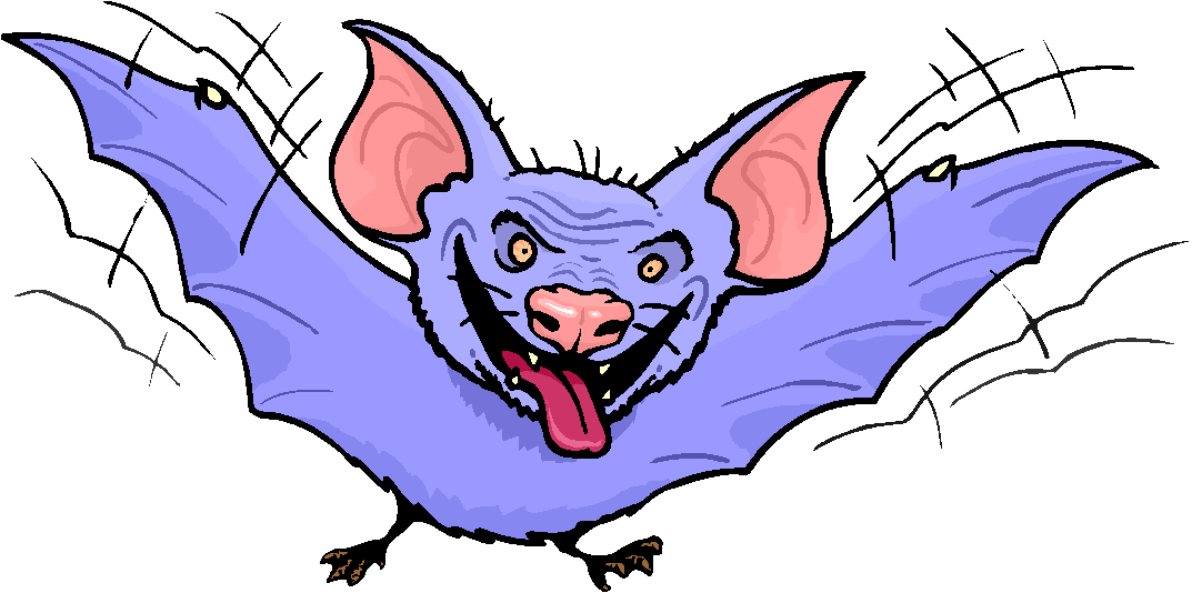Scary Bat Free Clipart