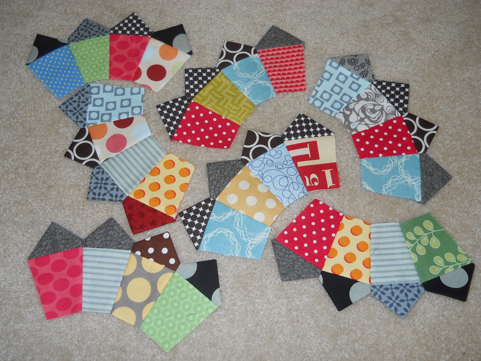 fan quilt along pattern part 2 color girl quilts by sharon mcconnell