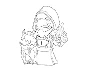 #10 Dota 2 Coloring Page