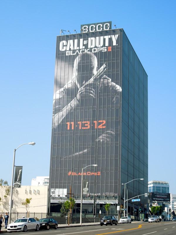 Call of Duty Black Ops II billboard Sunset Strip