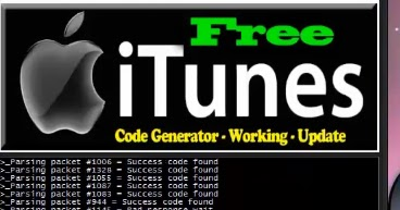 itunes gift card code generator real