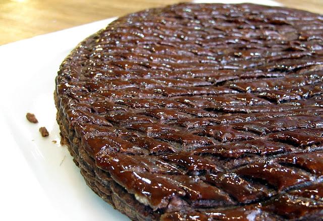 Galette des rois au chocolat - Chocolaterie Charpentier