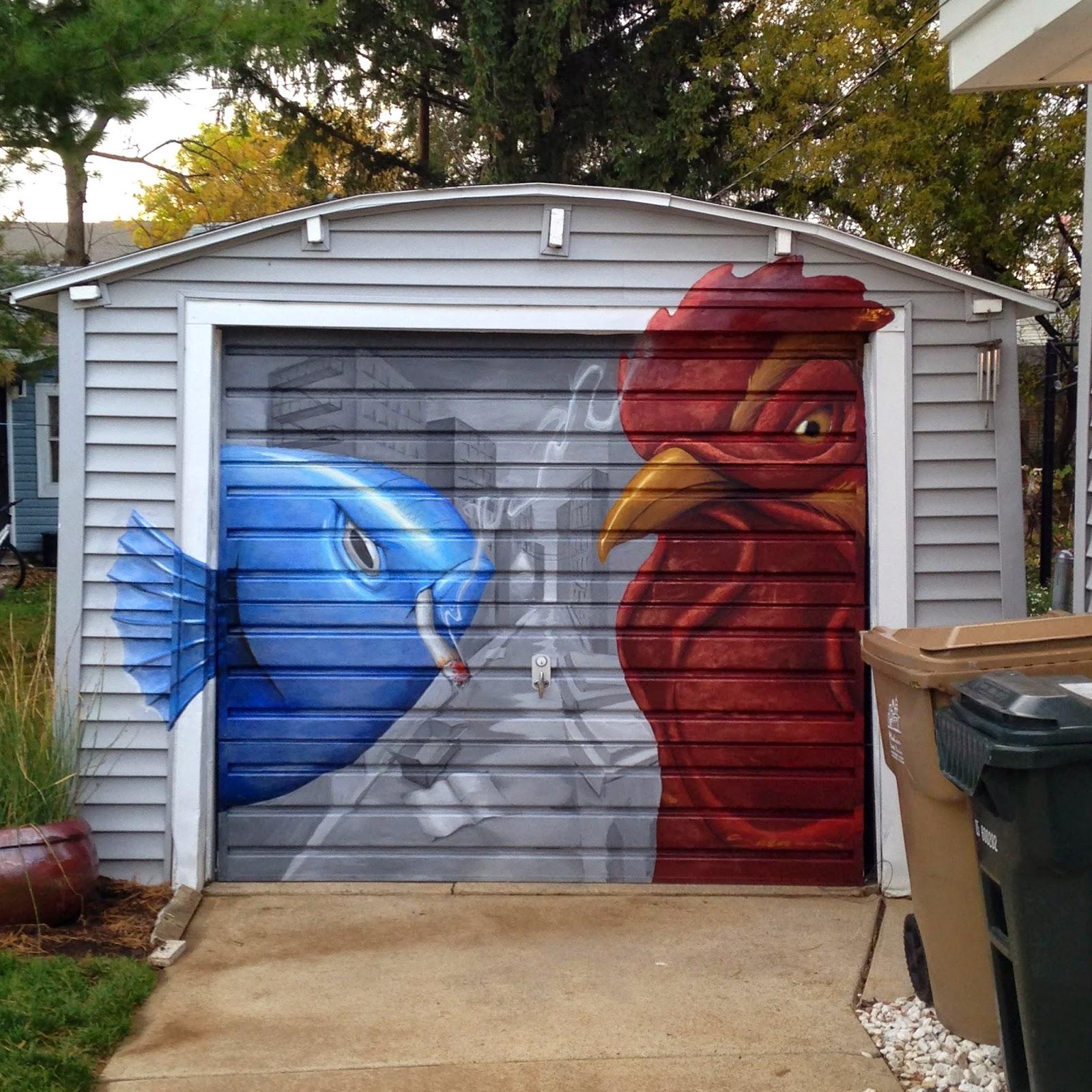 mural garage art