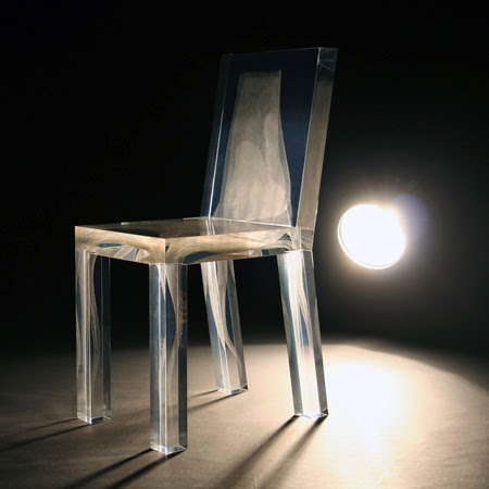 transparent chair