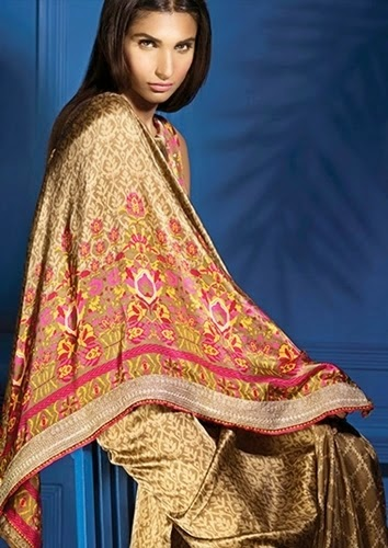 Silk Dress Collection for Eid