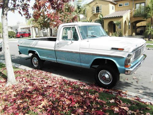 Johnson Nixon Era Ford Pickups Are Much More Cleanly Styled Than The Gerald Fords That Came Afterwards Similar But Uglier 6th Generation