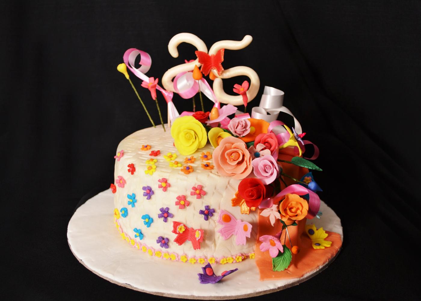 Fondant Cake Decorating Classes In Delhi
