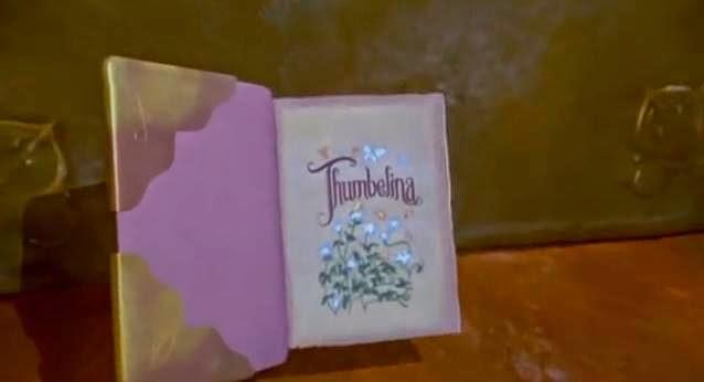 animated movie goddess  thumbelina