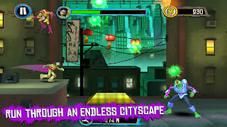 Teenage Mutant Ninja Turtles: Rooftop Run v1.0.5 for iPhone/iPad