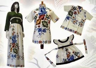 Gambar baju gamis batik muslimah