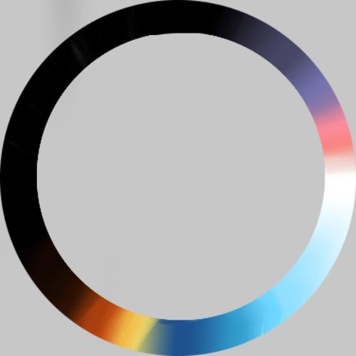 el color de 24horas del día