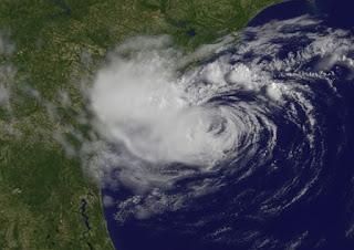 Wirbelsturm ALBERTO parkt vor South Carolina, Alberto, aktuell, Mai, 2012, Hurrikansaison 2012, Atlantik, Atlantische Hurrikansaison, South Carolina, Sturmwarnung, US-Ostküste Eastcoast, USA, Satellitenbild Satellitenbilder, Vorhersage Forecast Prognose,