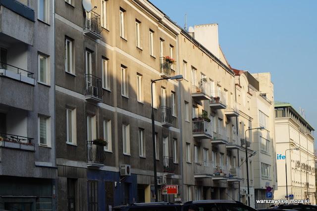 ulica Warszawa Powiśle Śródmieście Solec kamienica