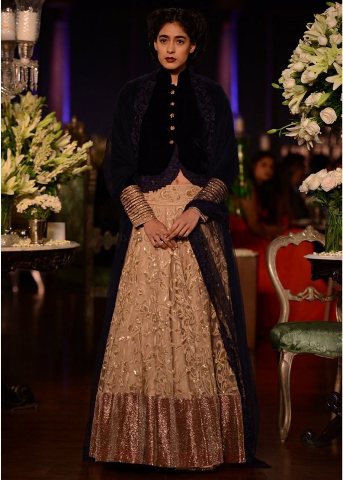 Manish malhotra bridal collection 2014 - Manish Malhotra S Collection At Delhi Couture Week 2013