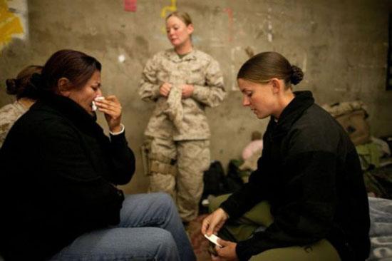 Mulheres na guerra - www.publicitario13.com.br