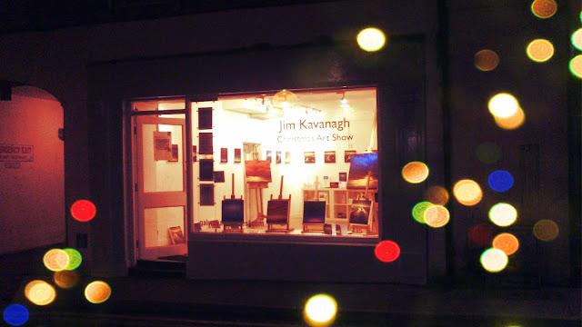 Jim Kavanagh Art Galway Christmas Pathological Gomez