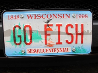 1000 images about fishy license plates on pinterest for How much is a wisconsin fishing license