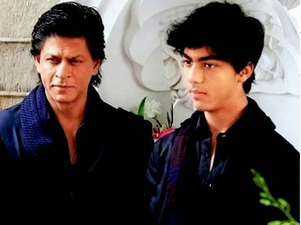 Shah Rukh Khan with Aryan