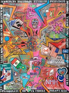 tableau personnalisé, tableau pop art, tableau sur mesure, art personnalisé, déco, design concept art