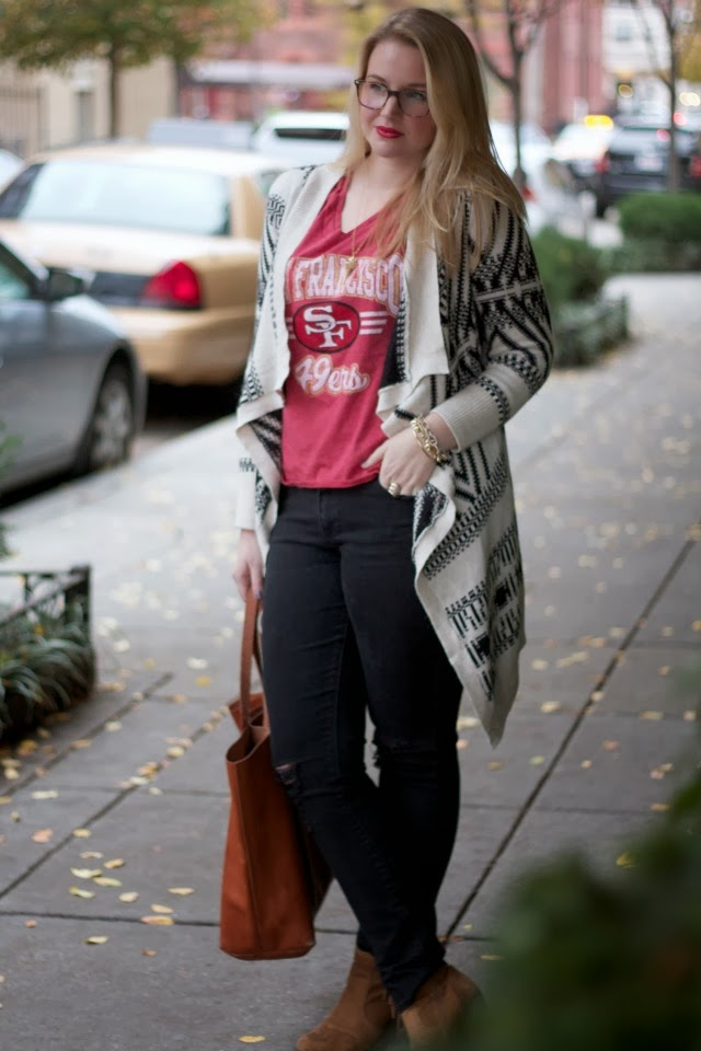 target, madewell, aeropostale, transport tote, 49ers, waffles and honey, warby parker, baxter