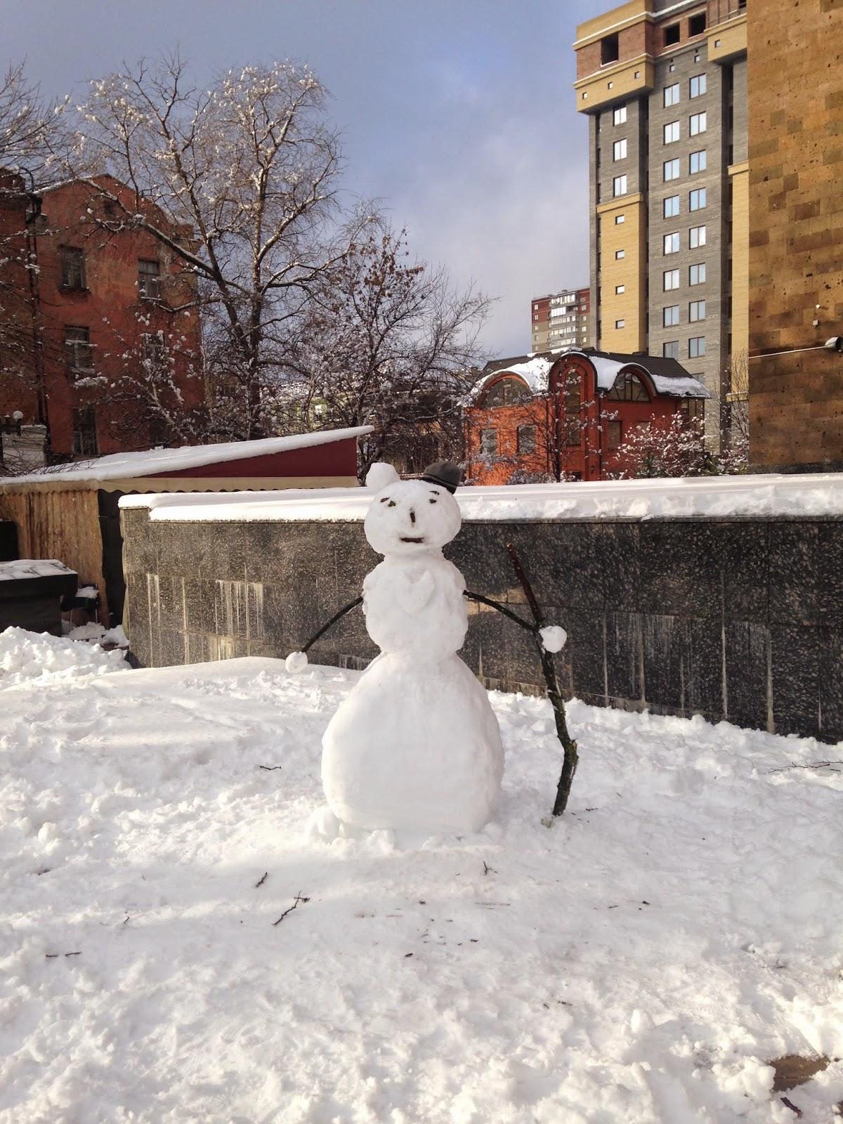 Снеговик-на-Пушкинской-Ростов